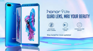 Honor 9 Lite smartphone flash sale