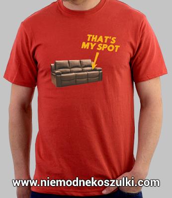 koszulka That's my spot teoria wielkiego podrywu