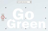 Membuat Desain Poster Go Green Lingkungan Hidup di CorelDRAW
