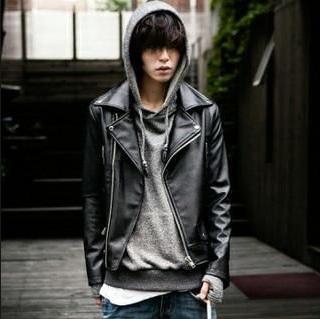 Gambar Model Jaket Kulit Imitasi Pria Terbaru