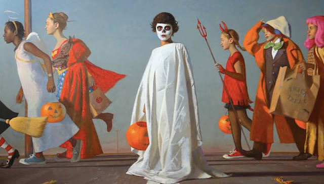 bo-bartlett-painter-artist-painting-Halloween-costumes-children