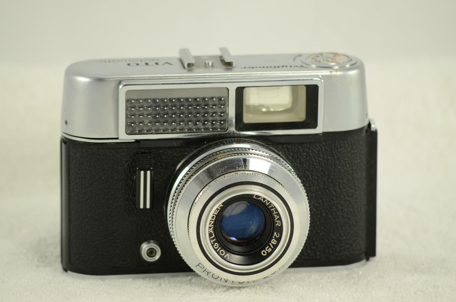 Vintage Camera House: Voigtlander Vitomatic with box
