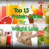 Top 15 Protein Drinks  for Weight Loss, NATURAL HOMEMADE DRINKS FOR WEIGHT LOSS