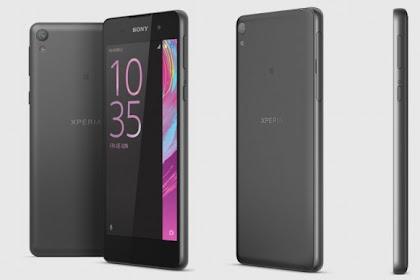 Sony Xperia E5, Ponsel Murah Dengan Fitur 4G dan Android 6.0