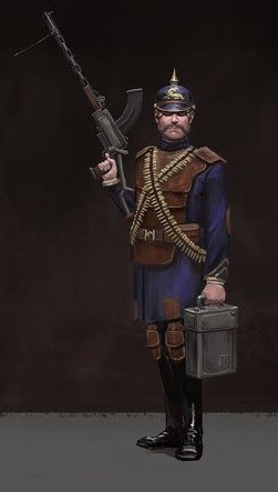 Iron Harvest 薩克森帝國 兵種