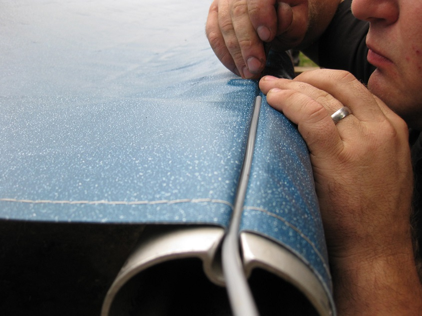 How to Replace RV Slide Topper Awning Fabric   Our RV Life