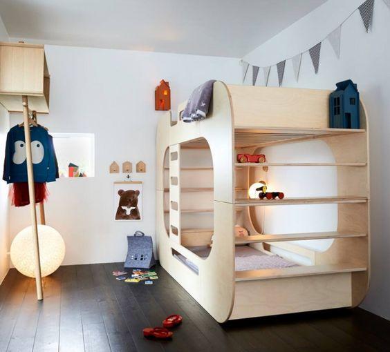 Cool bunk bed for adults - 15 Camas Cuchetas Muy Originales Y Ertidas M 225 S Chicos