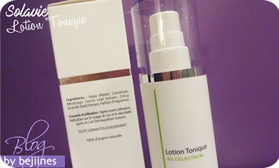 Solavie - Lotion Tonique au Colostrum