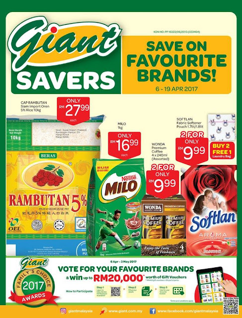 Giant Malaysia Catalogue Savers