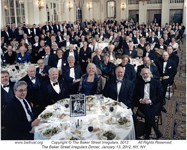 The 2012 BSI Dinner group photo