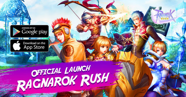 ragnarok rush grand launching