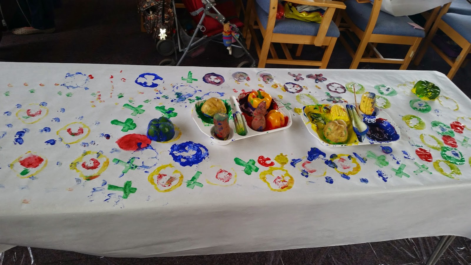 Messy Church Harvest Craft Ideas