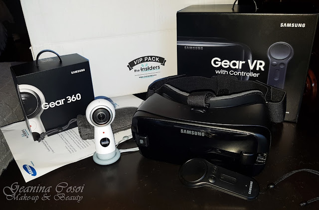 Cámara Samsung Gear 360 + gafas Gear VR - The Insiders