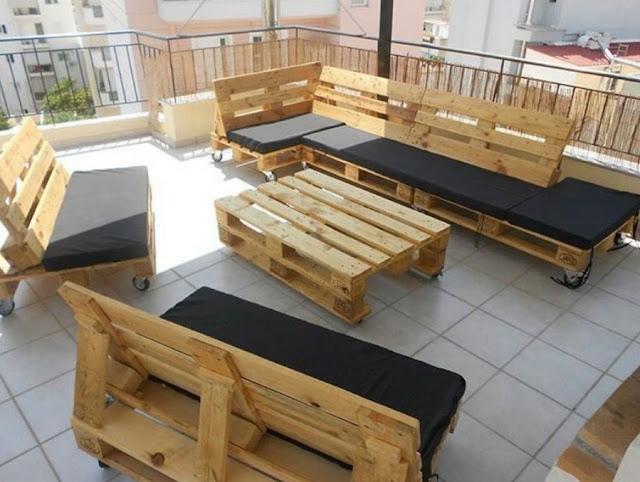 Inovatif Perabot Dari Pallet Kayu