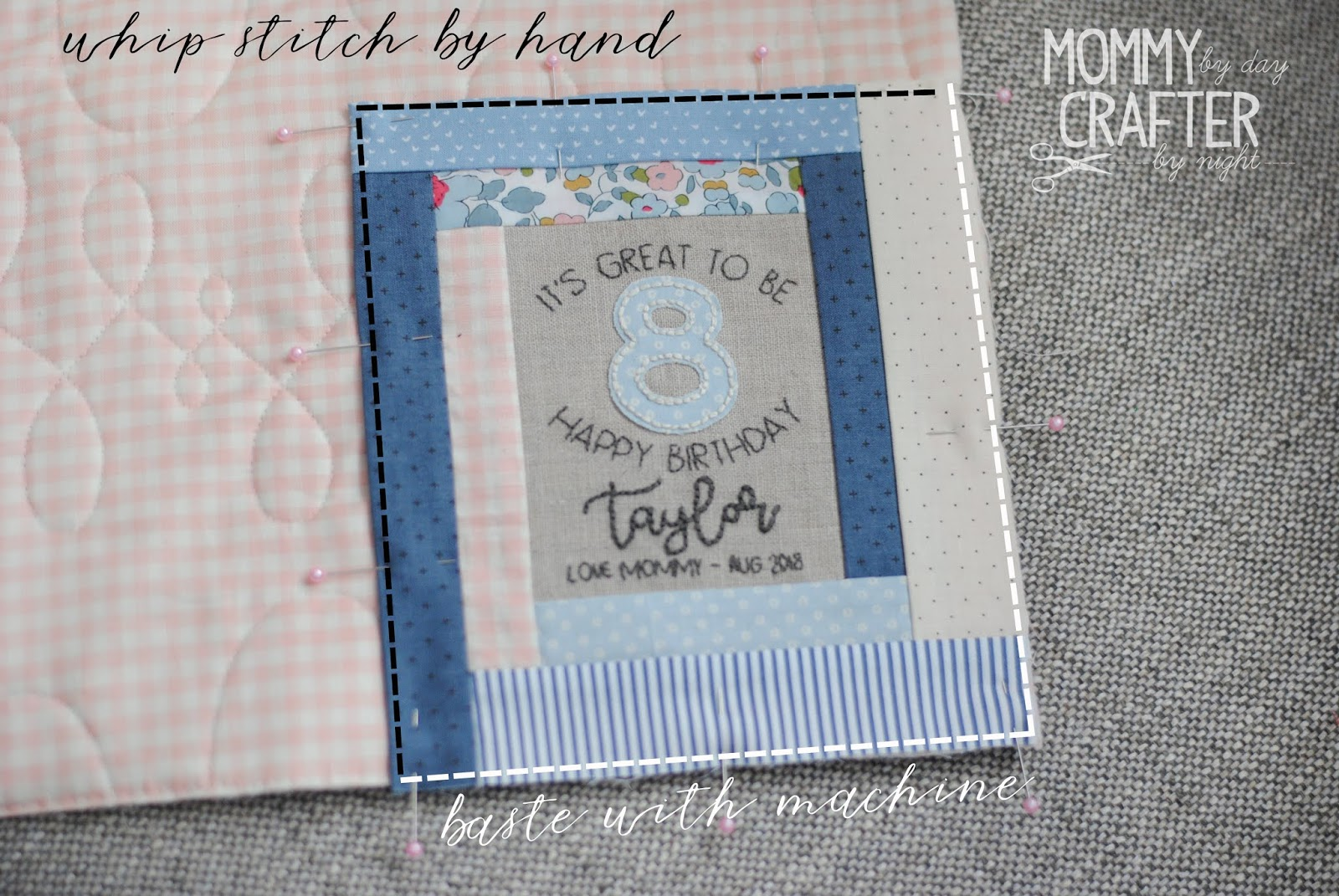 Handmade from Hope Quilt Label