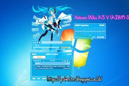 Download Skin Aimp Hatsune Miku A3v