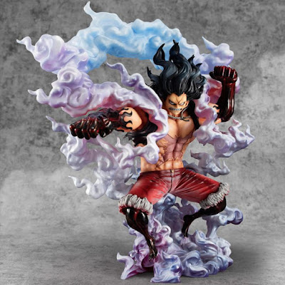 Portrait of Pirates POP Gear Fourth de Monkey D. Luffy de One Piece - Megahouse
