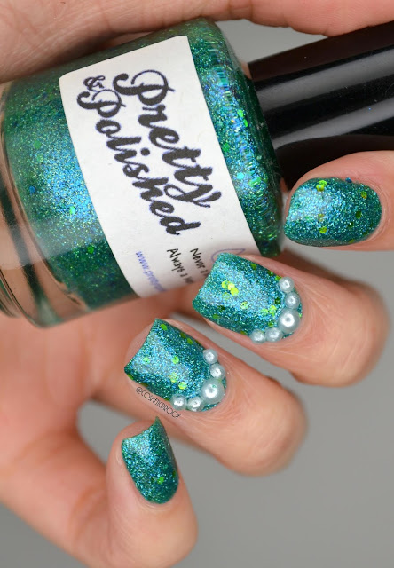Pretty and Polished Never a Bride, Always a Mermaid Swatch