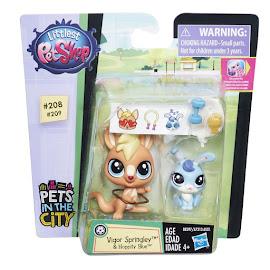 Littlest Pet Shop Pet Pawsabilities Hoppity Blue (#209) Pet