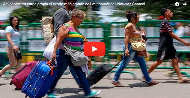 Siguen en aumento los mochileros hacia Colombia y Ecuador