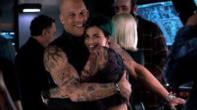 Vin Diesel and Ruby Rose on the set of xXx: Return of Xander Cage (21)