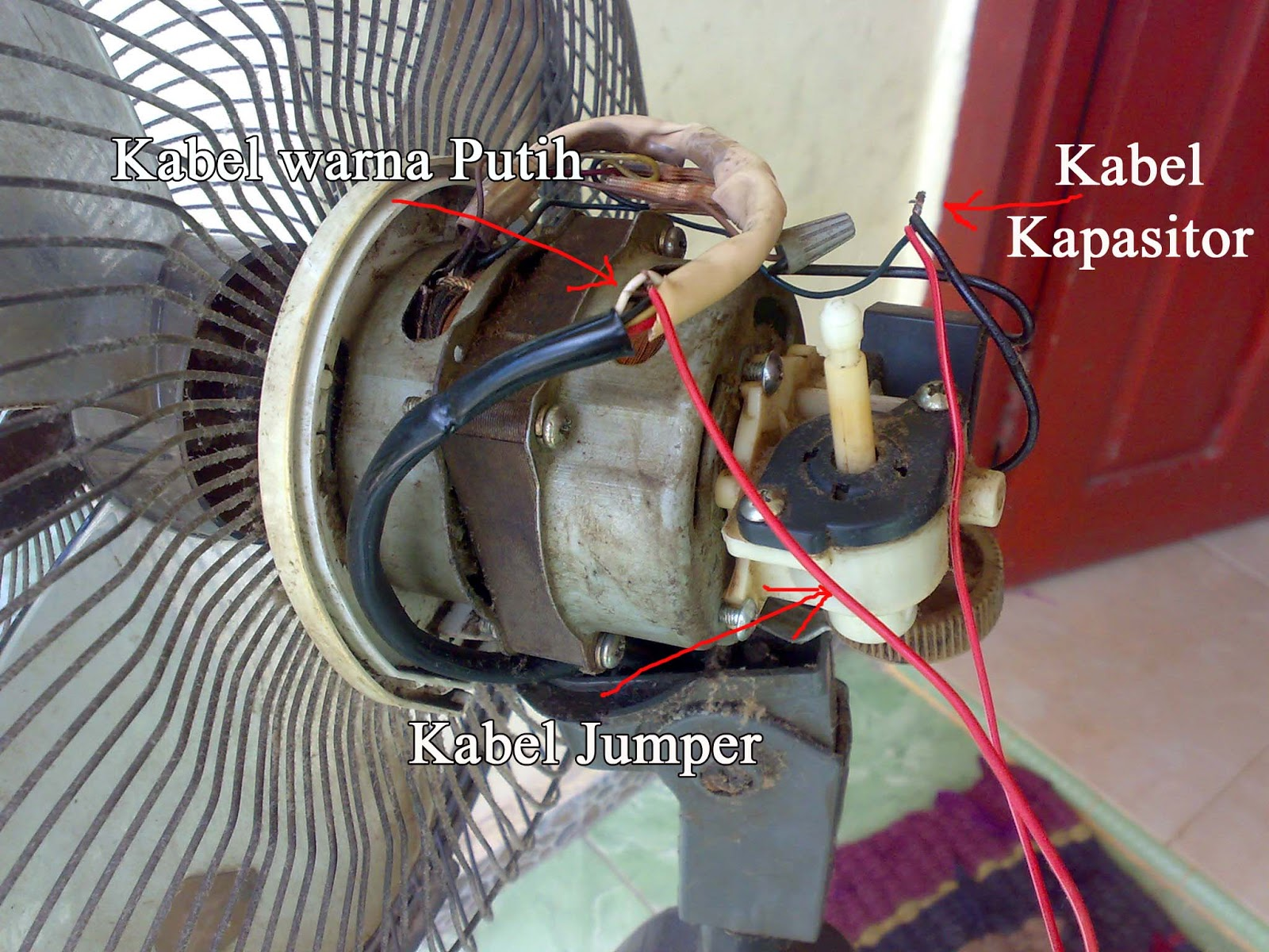 Trik Sederhana Memperbaiki Kerusakan Kipas Angin Mati