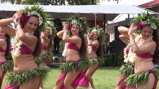 Danse polynésiennes