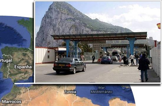 Fronteiras pelo mundo-Gibraltar e Espanha