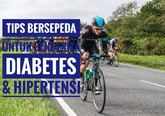 sepeda untuk diabetes dan hipertensi