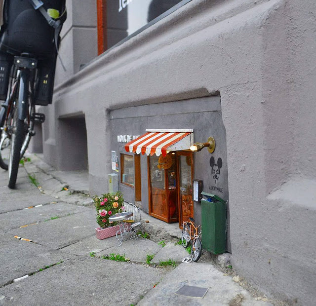 Anonymouse MMX - Noix de Vie also Nuts of Life | Miniatur Streetart aus Schweden