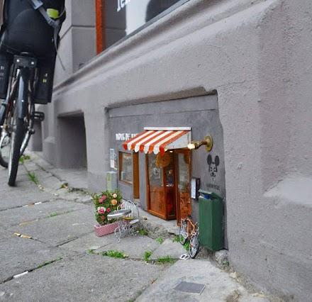 Anonymouse MMX - Noix de Vie | Miniatur Streetart aus Schweden