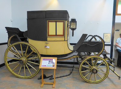 Travelling chariot, National Trust Carriage Museum, Arlington Court
