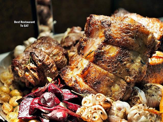 Christmas 2019 Sunway Hotel Resort Spa Menu - Slow-roasted Wagyu Beef Striploin