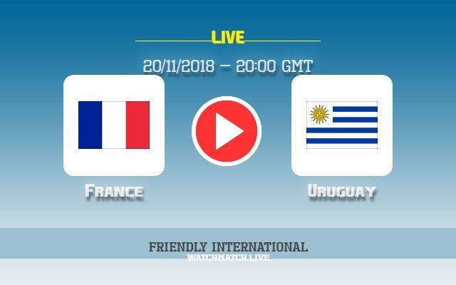 match en direct streaming france uruguay