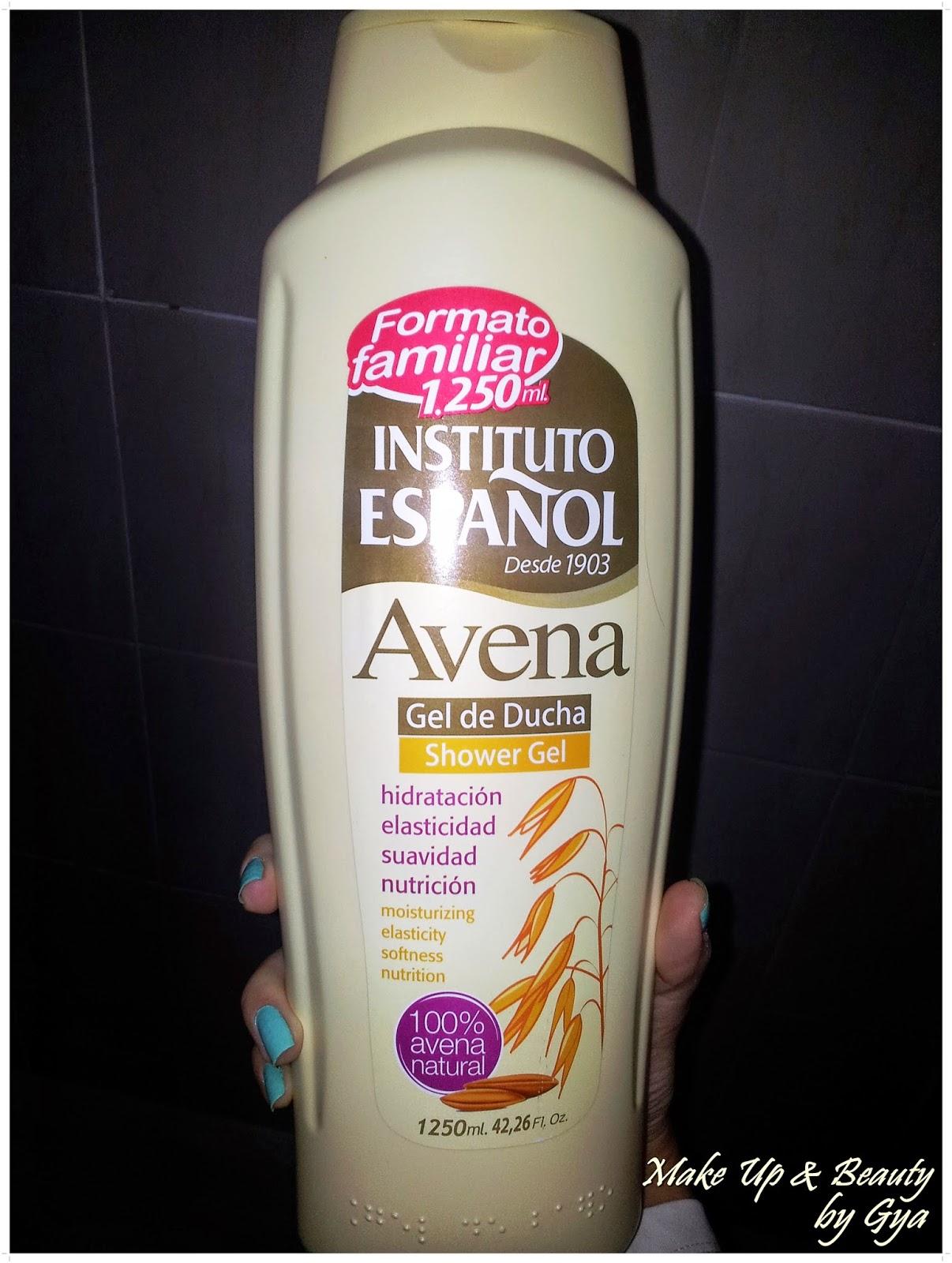 Gel de ducha con avena Instituto Español