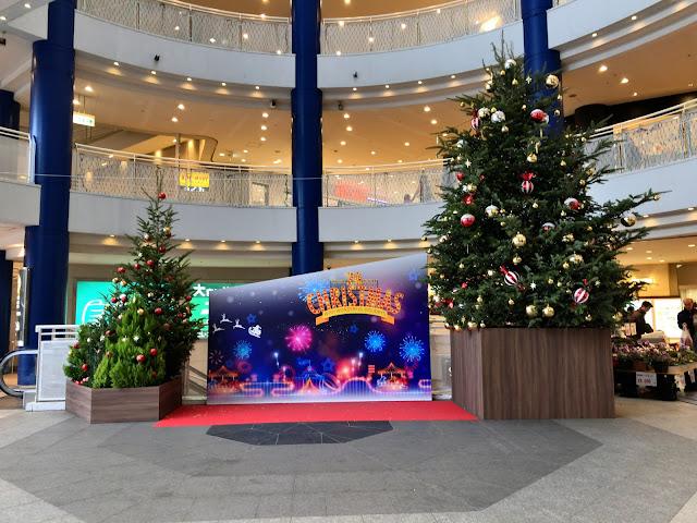 センター南にクリスマスツリーが登場!今年は港北東急20周年イベント盛りだくさん