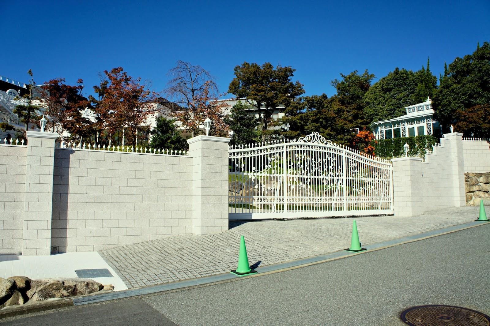 Tokiwai's Photo Blog: 芦屋の邸宅 六麓荘の秋