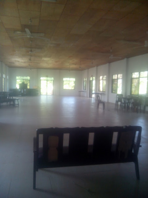 Spacious function hall at Virgin Beach Resort