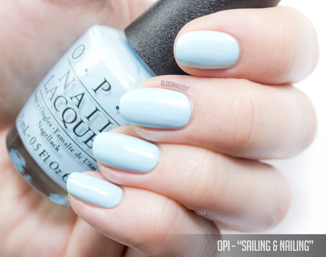 OPI - Sailing & Nailing