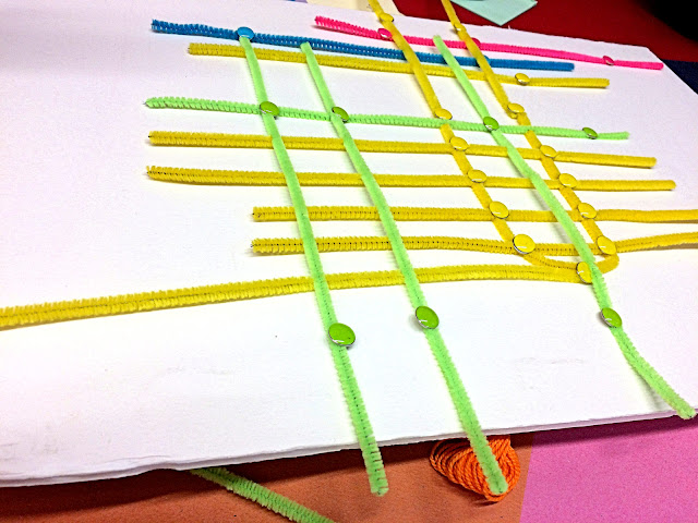 Protoype for colour-coded subway and streetcar lines