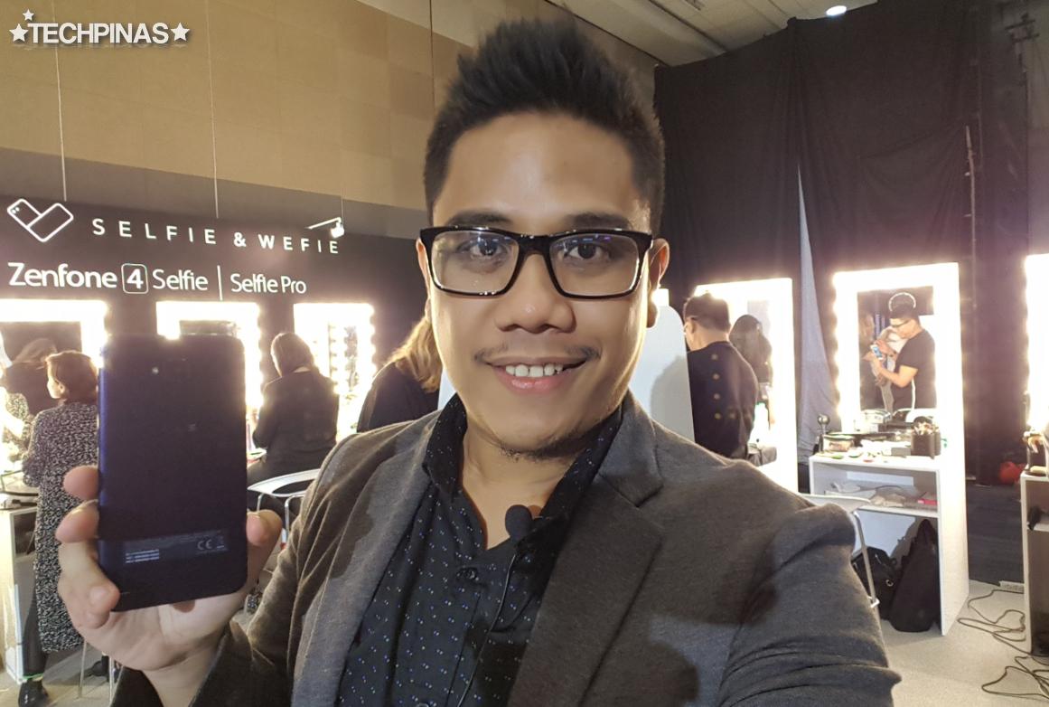 Asus ZenFone 4 Selfie, Mark Milan Macanas