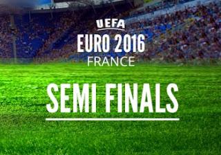 Jadwal Semifinal Piala Eropa 2016