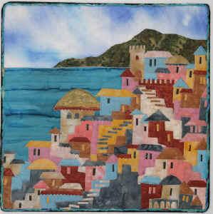 Seaside Village by Karen Eckmeier
