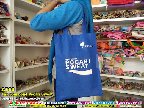Tas Spunbond Pocari Sweat