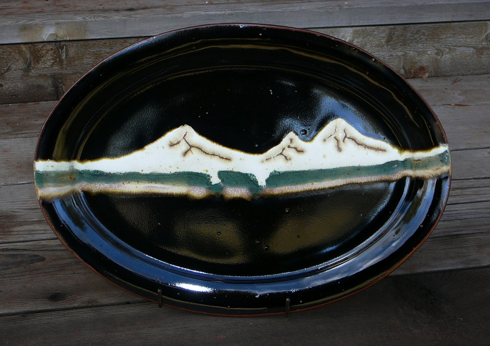 Canyon Creek Pottery Handmade Pottery Platter