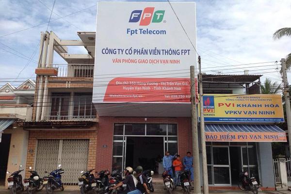 Địa Chỉ Văn Phòng FPT Telecom Vạn Ninh