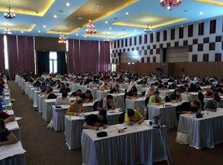 World Sudoku Championship 2017 Competition Hall