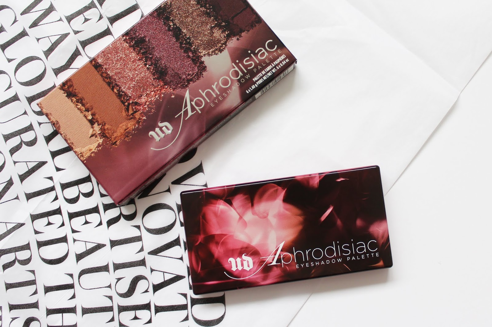 URBAN DECAY | Aphrodisiac Eyeshadow Palette - Review + Swatches - CassandraMyee