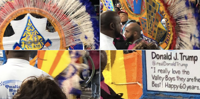 VIDEO: Maxine Waters unamused as Trump float passes in Bahamas parade