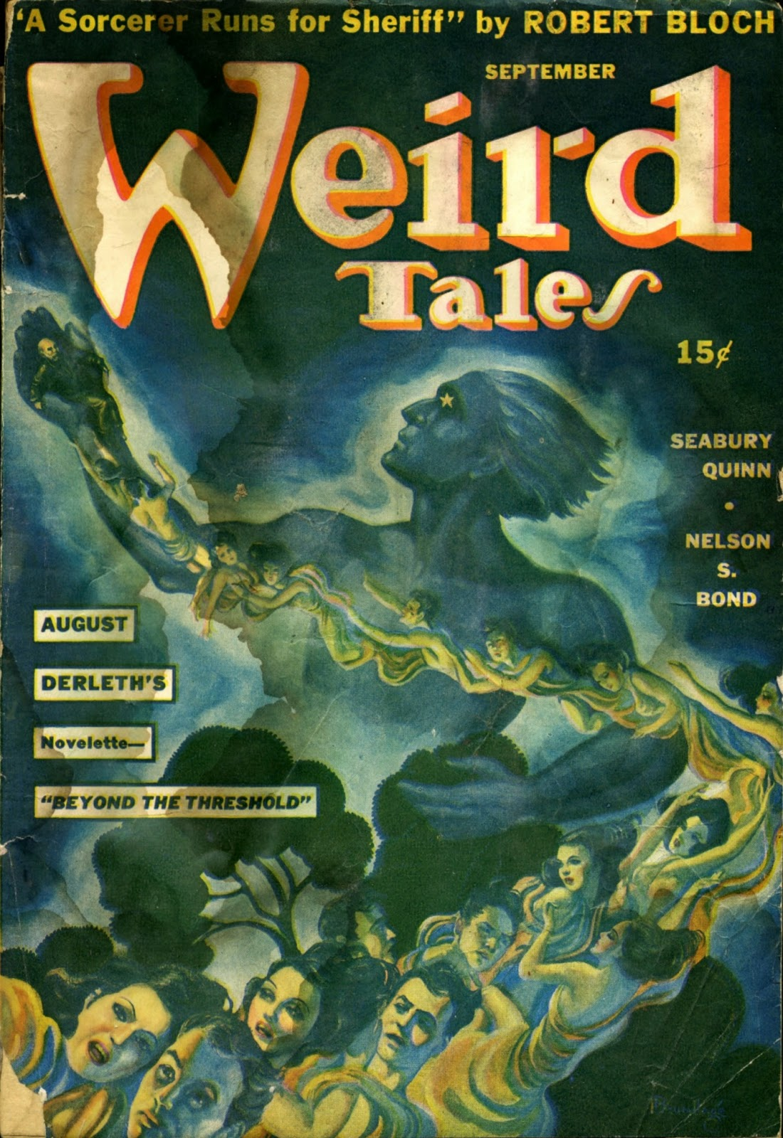 Cover Of Fashion Magazine With Daga Ziober December 2011: Tellers Of Weird Tales: Giants On The Cover Of Weird Tales